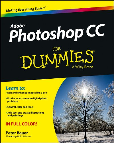 Photoshop CC for Dummies�   2013 edition cover