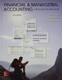 Financial and Managerial Accounting with Connect  6th 2016 edition cover