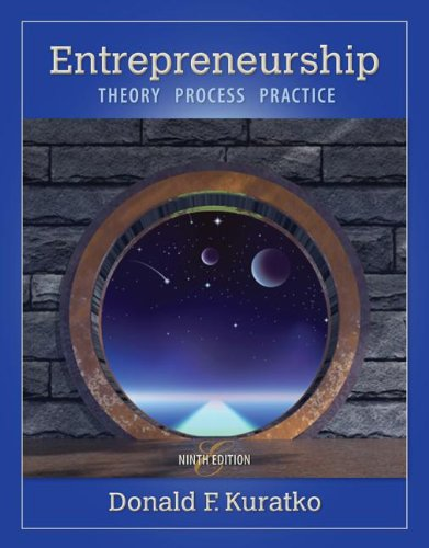 Entrepreneurship: Theory, Process, and Practice  2013 edition cover