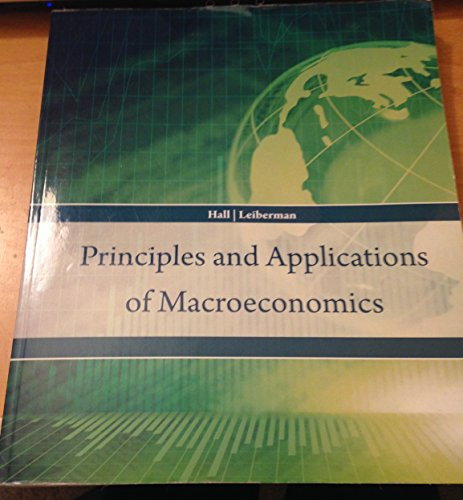 Principles and Applications of Macroeconomics  N/A 9781285118758 Front Cover