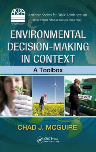 Environmental Decision-Making in Context A Toolbox  2012 edition cover
