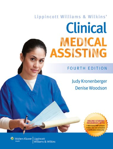 Clinical Medical Assisting  4th 2013 (Revised) edition cover