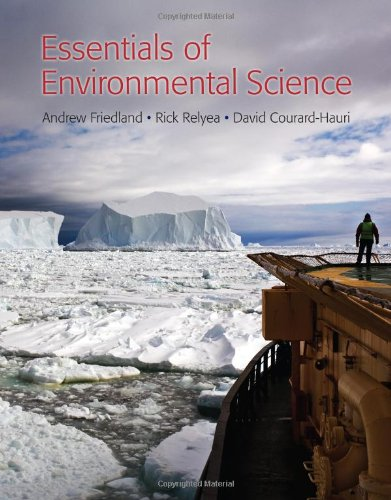 Essentials of Environmental Science   2013 edition cover