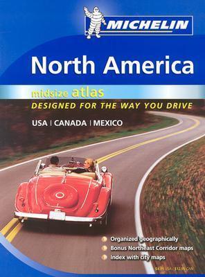 North America Road Atlas 2004 : Medium Format N/A 9782067106758 Front Cover