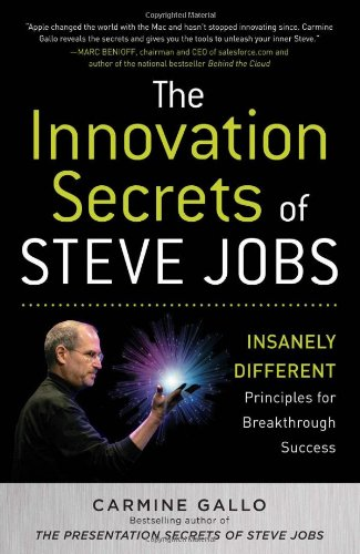 Innovation Secrets of Steve Jobs Insanely Different Principles for Breakthrough Success  2011 edition cover