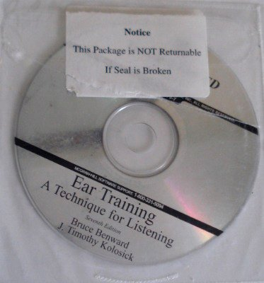 Ear Training : A Technique for Listening 7th 2005 edition cover