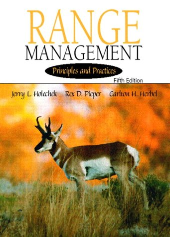 Range Management Principles and Practices 5th 2004 edition cover