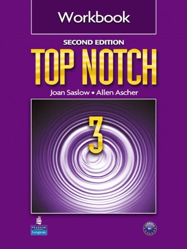 Top Notch 3 Workbook  2nd 2011 (Revised) edition cover
