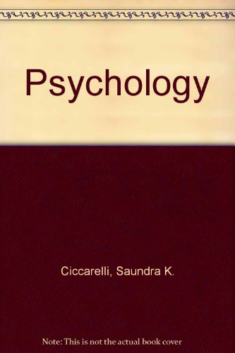 Psychology  8th 2007 9780137136759 Front Cover