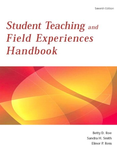Student Teaching and Field Experience Handbook  7th 2010 edition cover