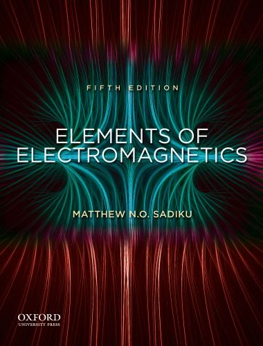 Elements of Electromagnetics  5th 2010 edition cover