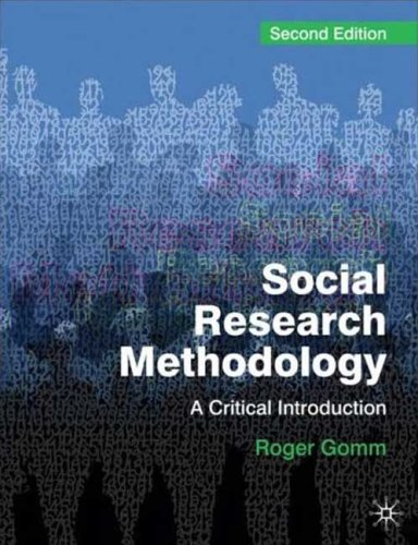 Social Research Methodology A Critical Introduction 2nd 2008 9780230224759 Front Cover