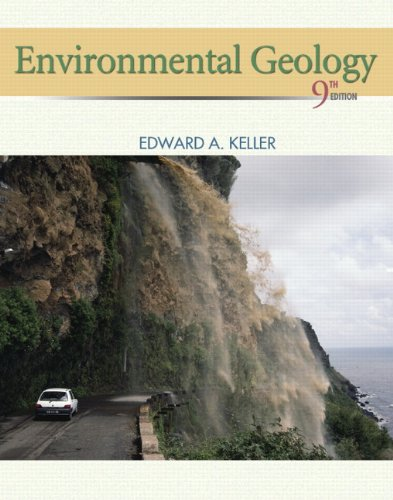 Environmental Geology  9th 2011 edition cover