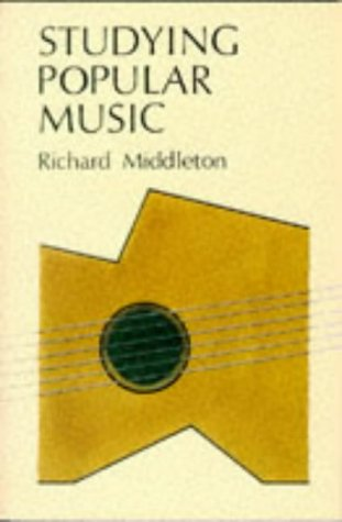 Studying Popular Music   1990 9780335152759 Front Cover