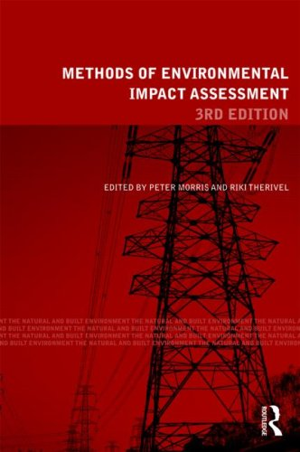Methods of Environmental Impact Assessment  3rd 2009 (Revised) edition cover