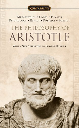 Philosophy of Aristotle  N/A edition cover