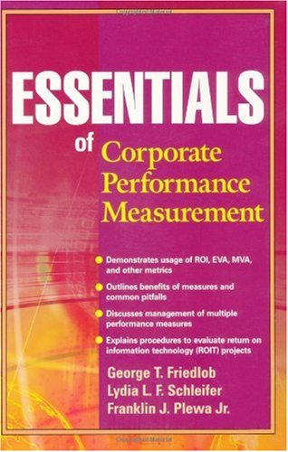 Essentials of Corporate Performance Measurement   2002 edition cover