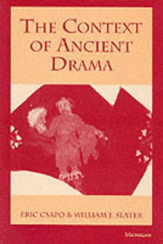 Context of Ancient Drama Nereids in Archaic and Classical Greek Art N/A edition cover