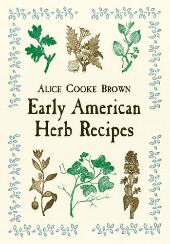 Early American Herb Recipes   2001 edition cover