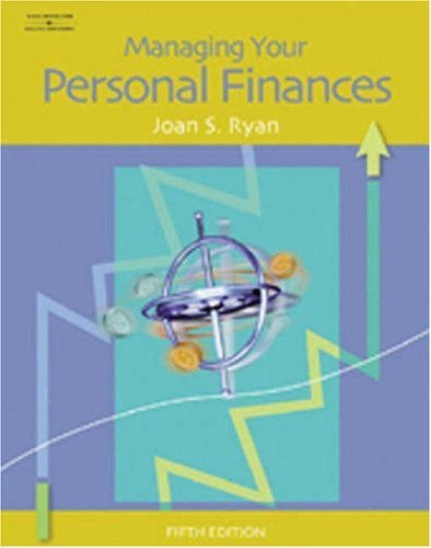 Managing Your Personal Finances  5th 2006 (Revised) edition cover