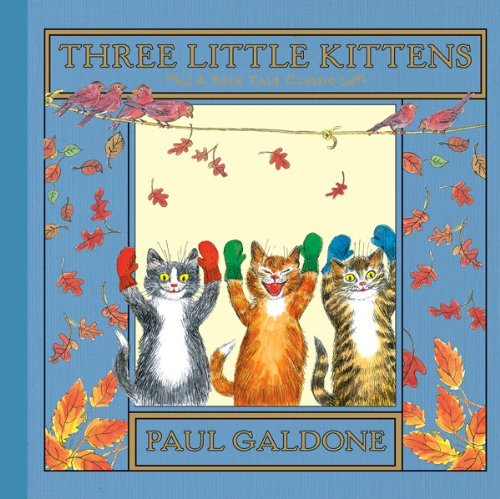 Three Little Kittens   1986 9780547575759 Front Cover