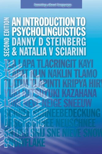 Introduction to Psycholinguistics  2nd 2006 (Revised) edition cover