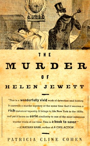 Murder of Helen Jewett   1999 edition cover
