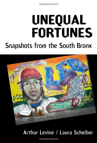 Unequal Fortunes Snapshots from the South Bronx  2010 edition cover