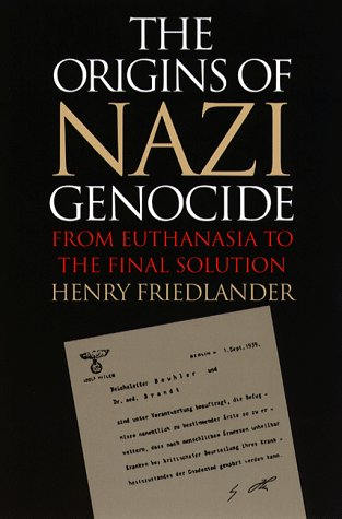 Origins of Nazi Genocide From Euthanasia to the Final Solution 3rd 1997 edition cover