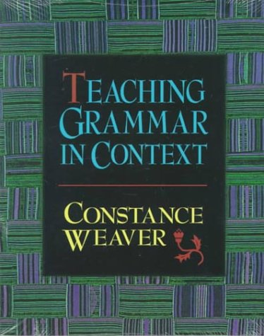 Teaching Grammar in Context   1996 edition cover