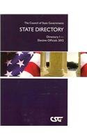 The Council of State Governments State Directory: Directory I - Elective Officials 2012  2012 edition cover