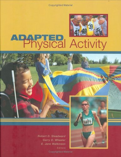 Adapted Physical Activity   2003 edition cover