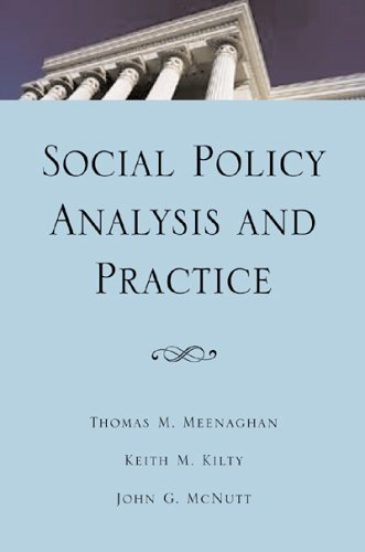 Social Policy Analysis and Practice  2004 edition cover