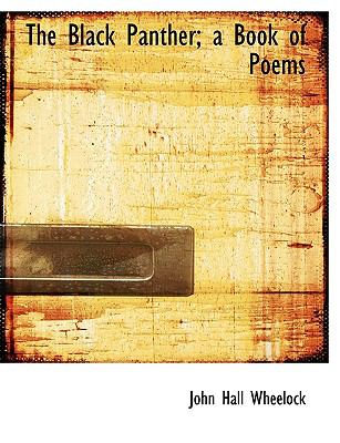 Black Panther; a Book of Poems N/A 9781113627759 Front Cover