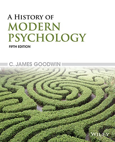History of Modern Psychology  5th 2015 9781118833759 Front Cover