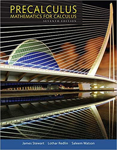 Cover art for Precalculus: Mathematics for Calculus, 7th Edition