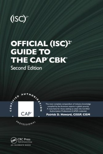 Official (ISC)2� Guide to the CAP� CBK�  2nd 2013 (Revised) 9781439820759 Front Cover