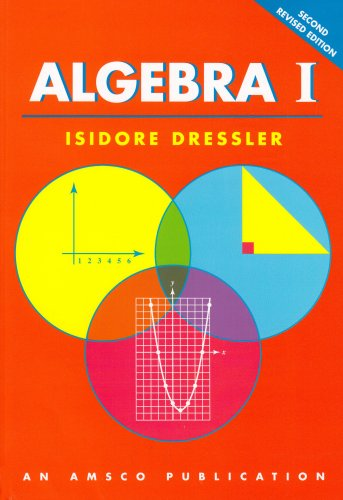 Algebra I 2nd 2005 (Revised) edition cover