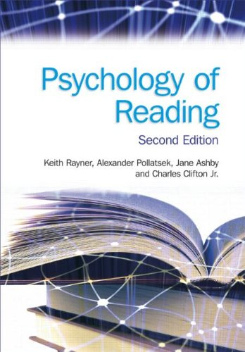 Psychology of Reading  2nd 2012 edition cover