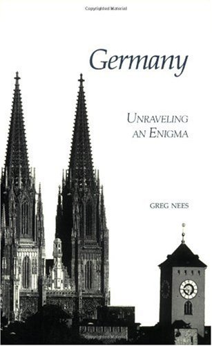 Germany Unraveling an Enigma  2000 9781877864759 Front Cover
