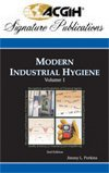 Modern Industrial Hygiene, Volume 1 -- Recognition and Evaluation of Chemical Agents, 2nd Edition  N/A edition cover
