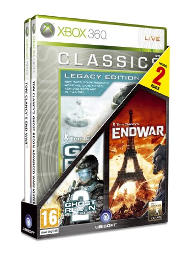 Tom Clancy's Ghost Recon - Advanced Warfighter 2 + Tom Clancy's EndWar Xbox 360 artwork