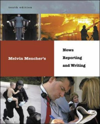 Melvin Mencher's News Reporting and Writing with and PowerWeb  10th 2006 (Revised) edition cover