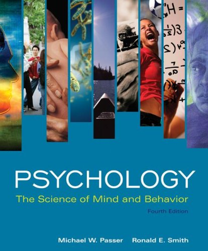 Psychology The Science of Mind and Behavior 4th 2008 edition cover