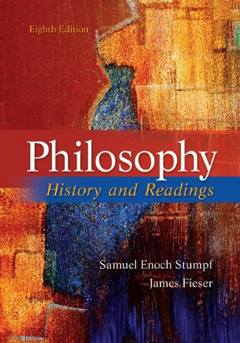 Philosophy History and Readings 8th 2012 edition cover