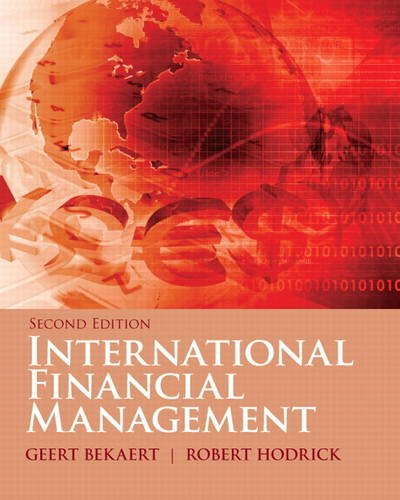 International Financial Management  2nd 2012 (Revised) edition cover