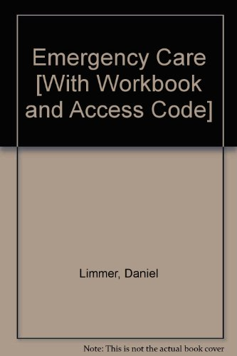 Emergency Care and Workbook and CourseCompass Student Access Code Card and Resource Central EMS Access Card Package  12th 2012 9780132795760 Front Cover