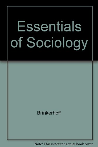 Essentials of Sociology  3rd 1995 9780314041760 Front Cover