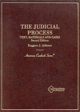 Judicial Process  2nd 1996 (Revised) edition cover