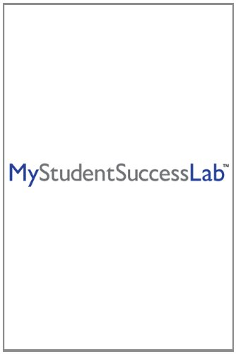 MyStudentSuccessLab   2013 (Revised) edition cover